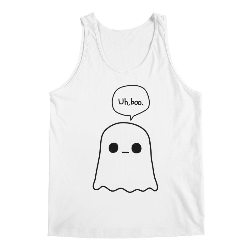 Awkward Ghost Men's Tank by oneweirddude's Artist Shop
