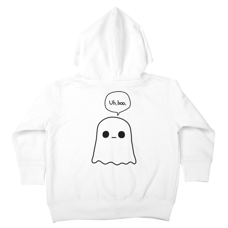 Awkward Ghost Kids Toddler Zip-Up Hoody by oneweirddude's Artist Shop