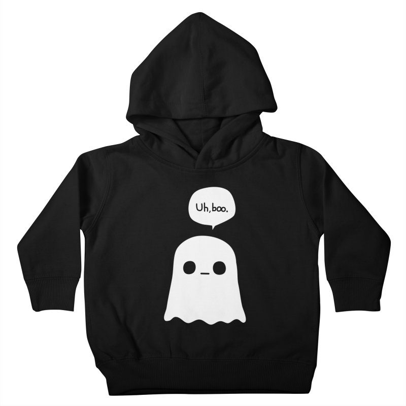 Awkward Ghost Kids Toddler Pullover Hoody by oneweirddude's Artist Shop