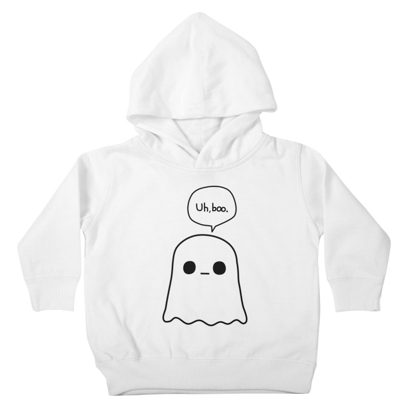 Awkward Ghost Kids Toddler Pullover Hoody by oneweirddude's Artist Shop