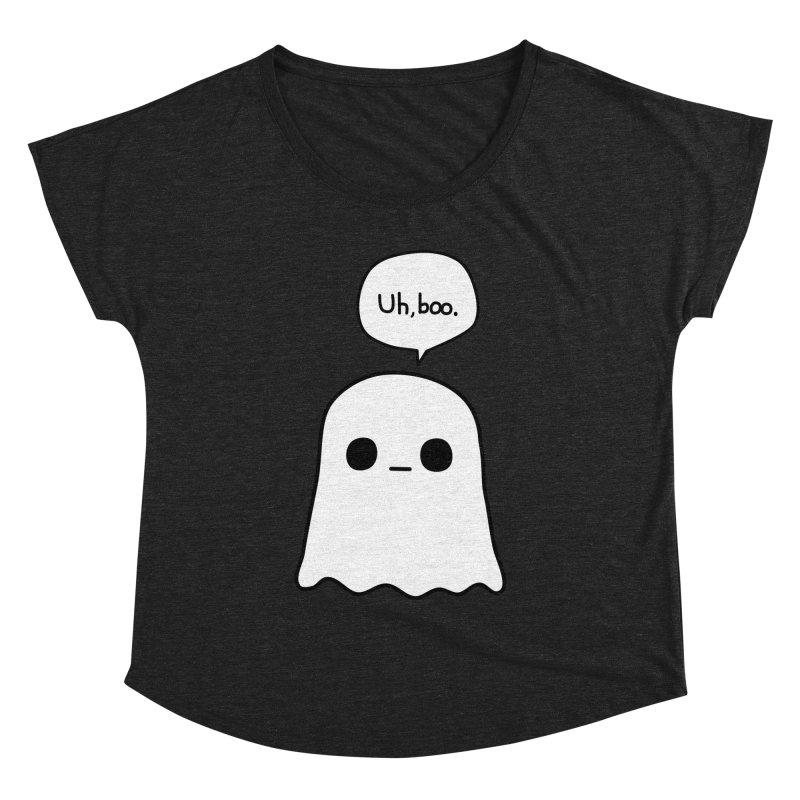 Awkward Ghost Women's Dolman Scoop Neck by oneweirddude's Artist Shop