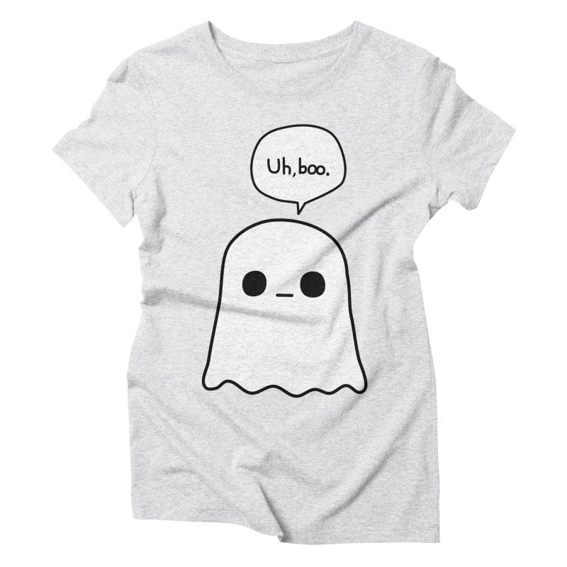 Awkward Ghost Women's Triblend T-Shirt by oneweirddude's Artist Shop