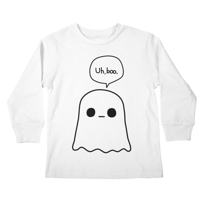 Awkward Ghost Kids Longsleeve T-Shirt by oneweirddude's Artist Shop