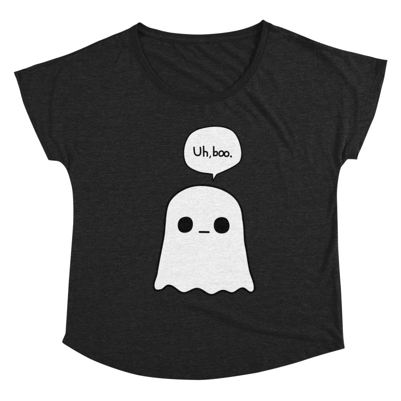 Awkward Ghost Women's Scoop Neck by oneweirddude's Artist Shop