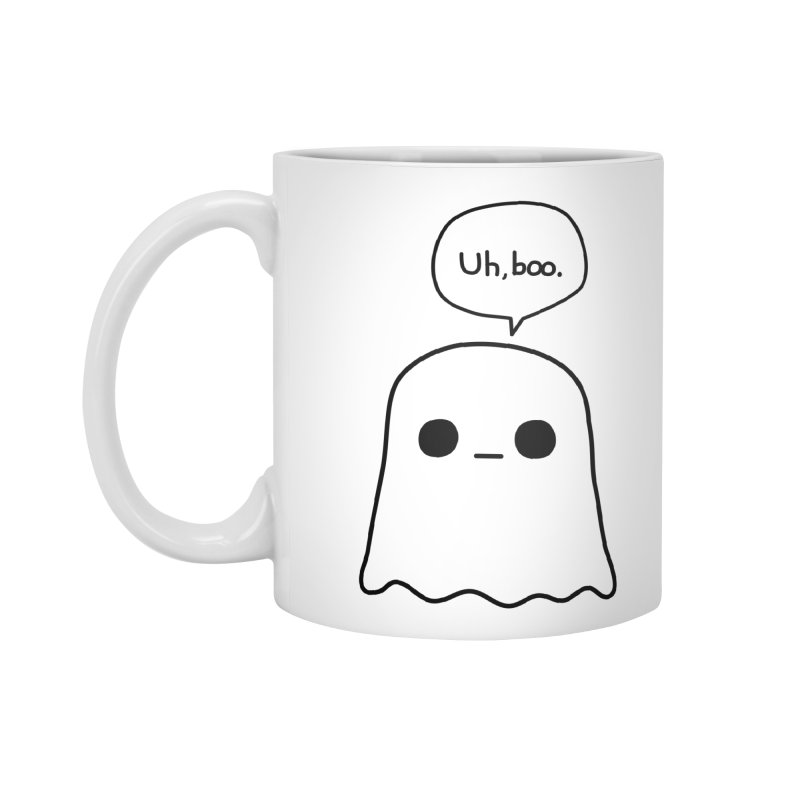Awkward Ghost Accessories Standard Mug by oneweirddude's Artist Shop