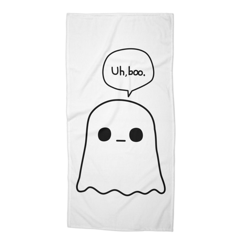 Awkward Ghost Accessories Beach Towel by oneweirddude's Artist Shop