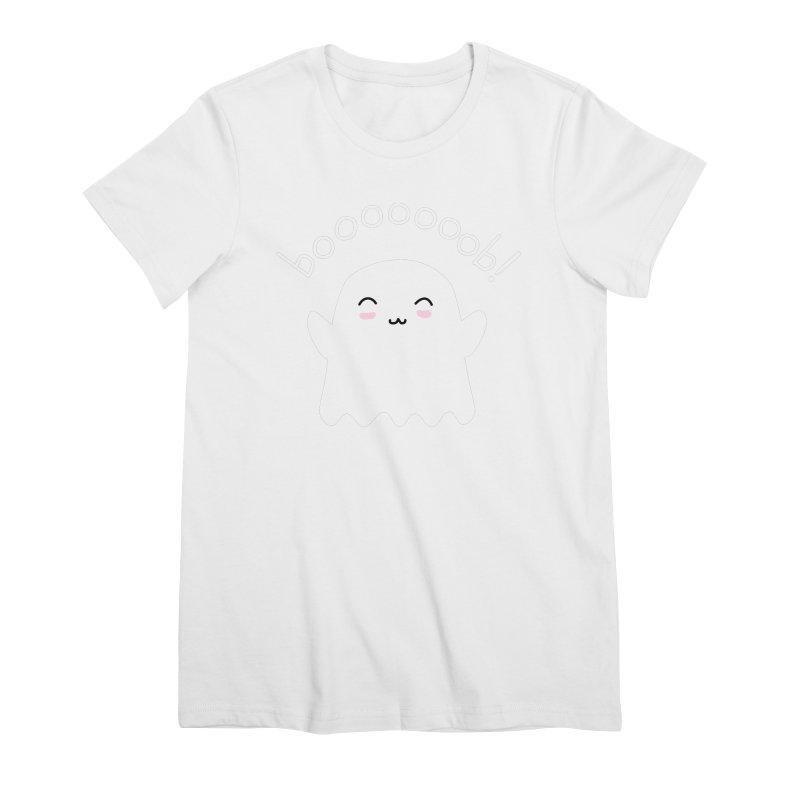 Boooob! Women's Premium T-Shirt by oneweirddude's Artist Shop