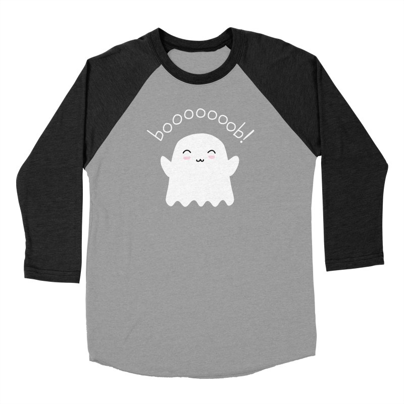 Boooob! Men's Baseball Triblend Longsleeve T-Shirt by oneweirddude's Artist Shop