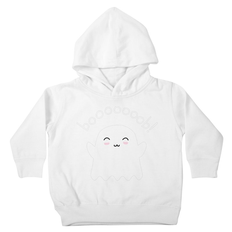 Boooob! Kids Toddler Pullover Hoody by oneweirddude's Artist Shop