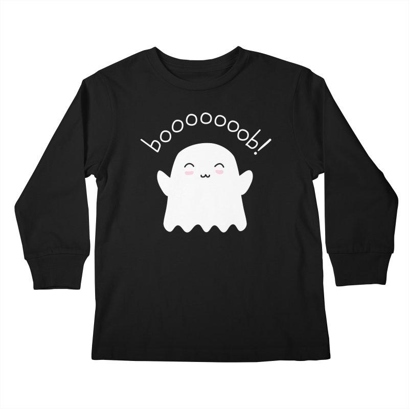 Boooob! Kids Longsleeve T-Shirt by oneweirddude's Artist Shop