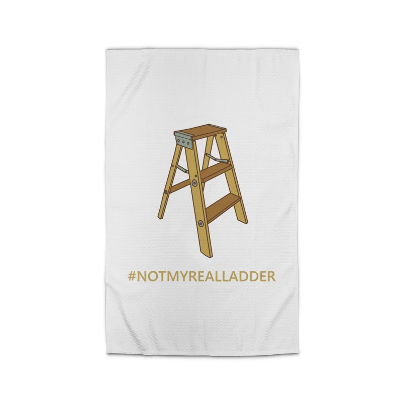 Not My Real Ladder Home Rug by oneweirddude's Artist Shop
