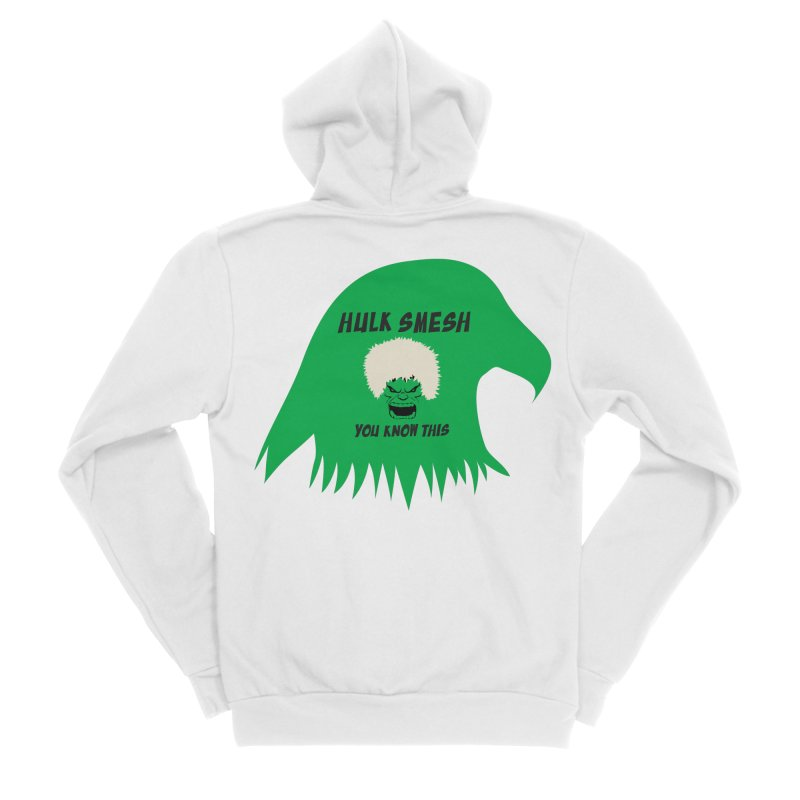 I Smesh, You Know This Women's Sponge Fleece Zip-Up Hoody by oneweirddude's Artist Shop