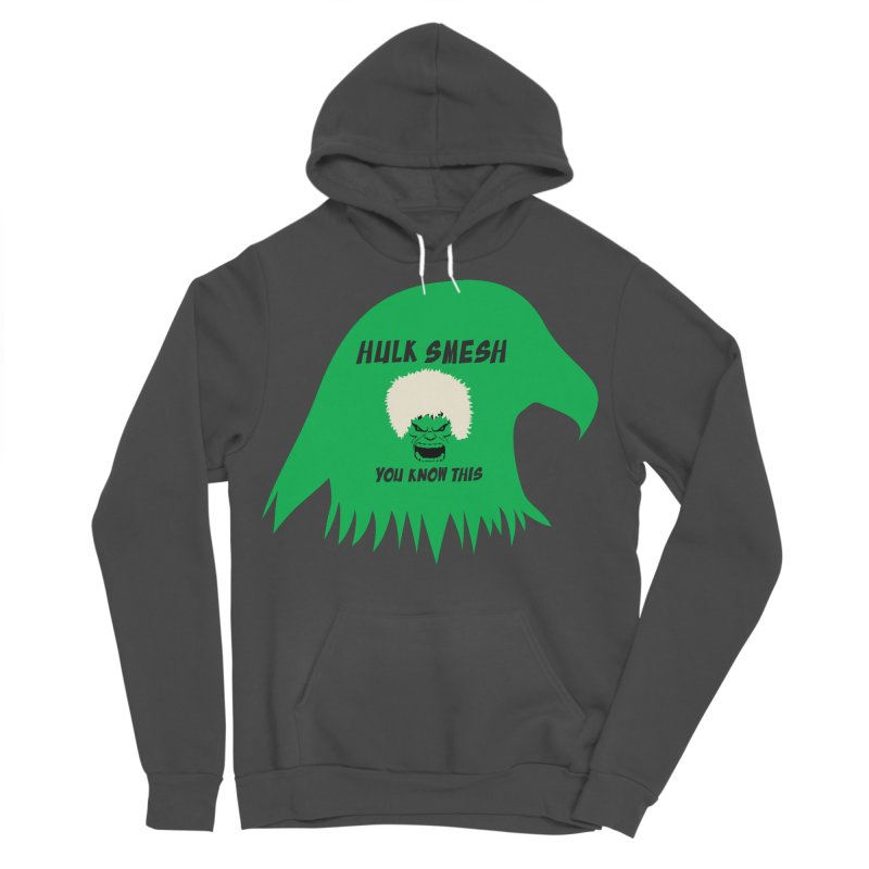 I Smesh, You Know This Men's Sponge Fleece Pullover Hoody by oneweirddude's Artist Shop