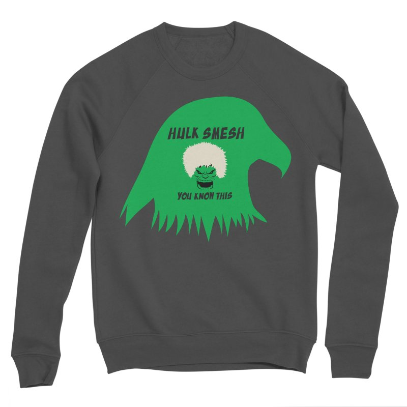 I Smesh, You Know This Men's Sponge Fleece Sweatshirt by oneweirddude's Artist Shop