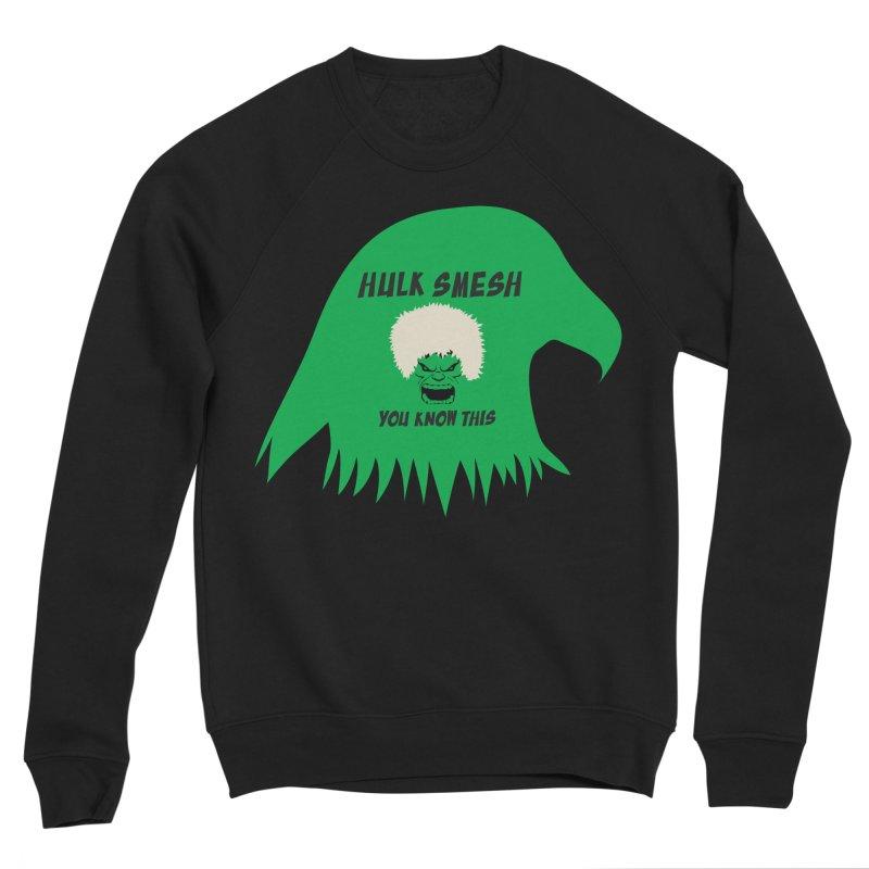 I Smesh, You Know This Men's Sponge Fleece Sweatshirt by oneweirddude's Artist Shop