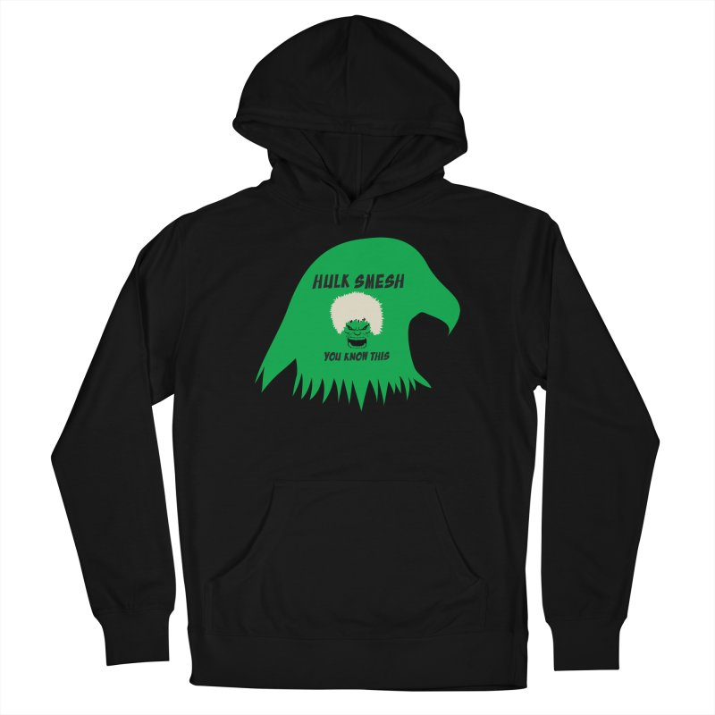 I Smesh, You Know This Men's French Terry Pullover Hoody by oneweirddude's Artist Shop