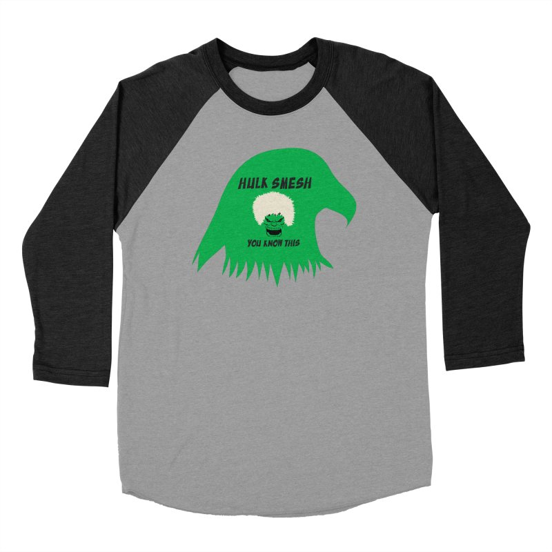 I Smesh, You Know This Men's Baseball Triblend Longsleeve T-Shirt by oneweirddude's Artist Shop