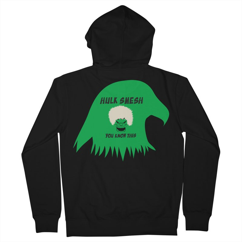 I Smesh, You Know This Men's French Terry Zip-Up Hoody by oneweirddude's Artist Shop