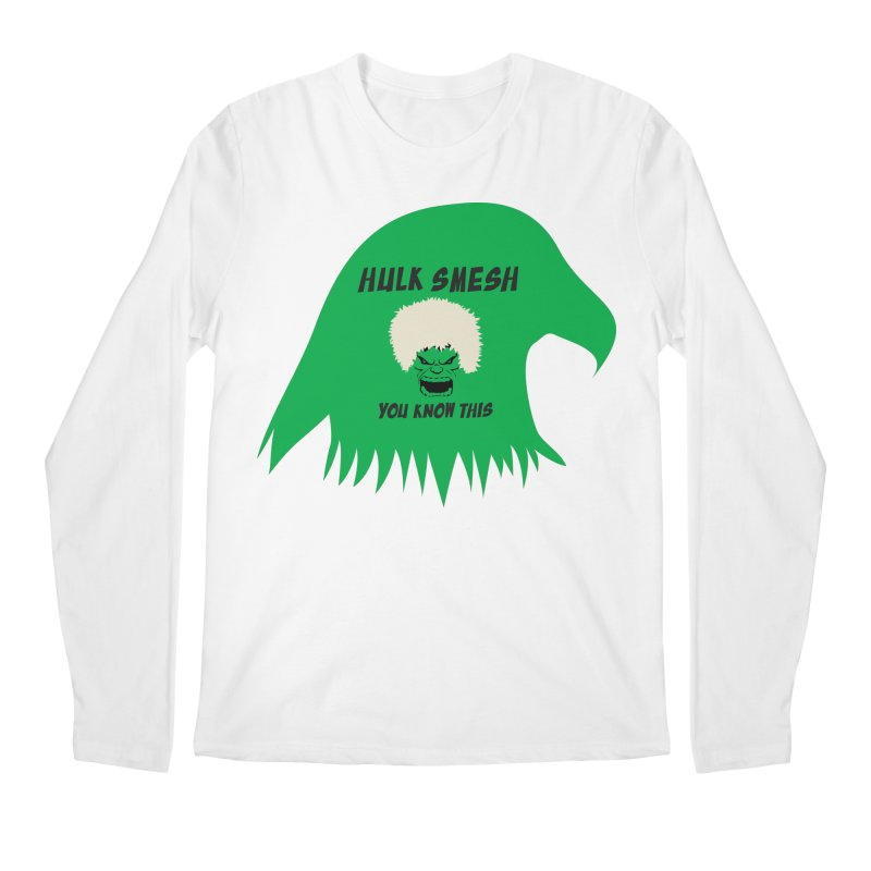 I Smesh, You Know This Men's Regular Longsleeve T-Shirt by oneweirddude's Artist Shop