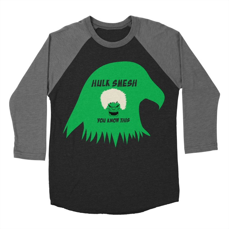 I Smesh, You Know This Women's Baseball Triblend Longsleeve T-Shirt by oneweirddude's Artist Shop