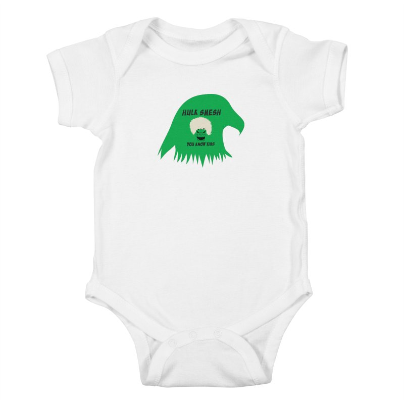 I Smesh, You Know This Kids Baby Bodysuit by oneweirddude's Artist Shop