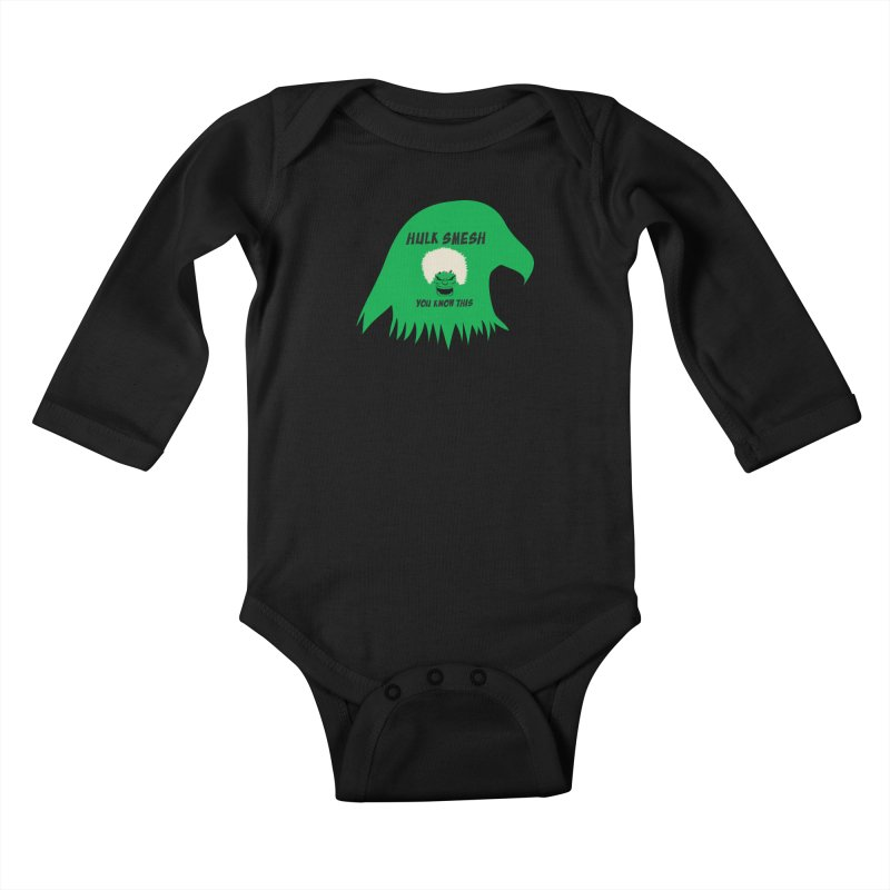 I Smesh, You Know This Kids Baby Longsleeve Bodysuit by oneweirddude's Artist Shop