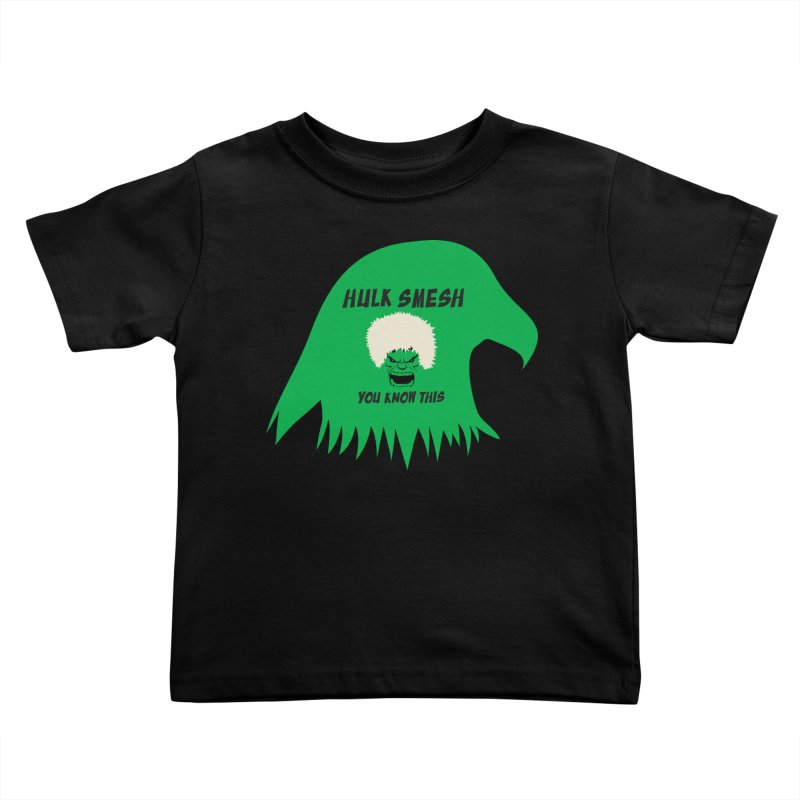 I Smesh, You Know This Kids Toddler T-Shirt by oneweirddude's Artist Shop