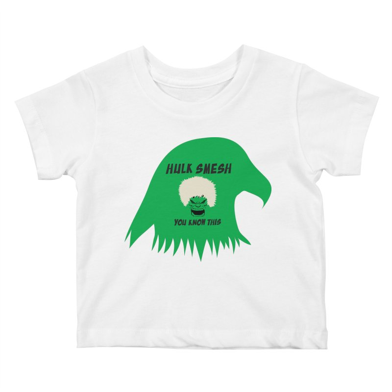 I Smesh, You Know This Kids Baby T-Shirt by oneweirddude's Artist Shop