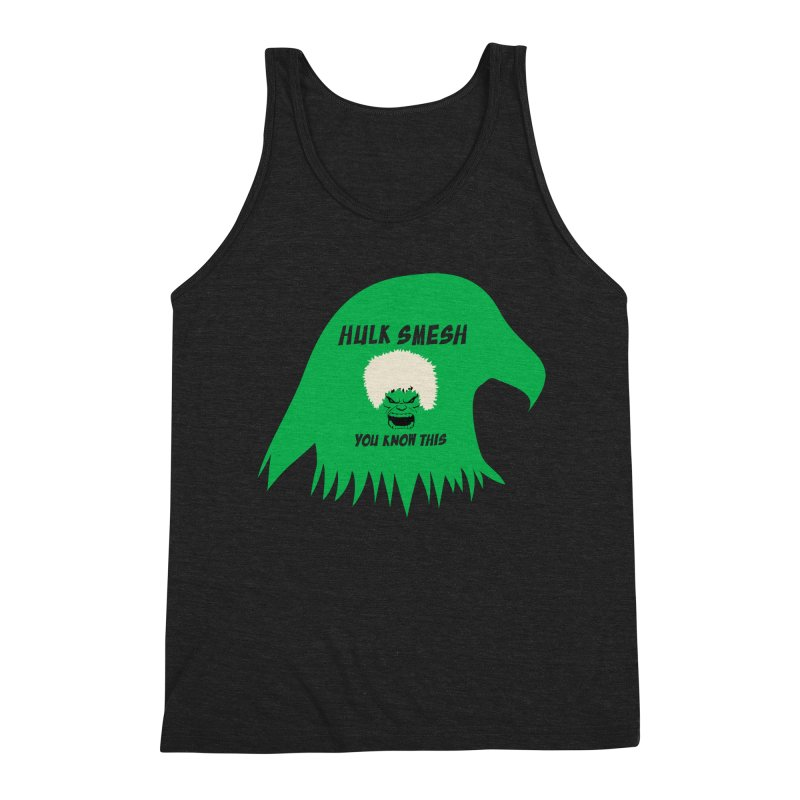I Smesh, You Know This Men's Triblend Tank by oneweirddude's Artist Shop