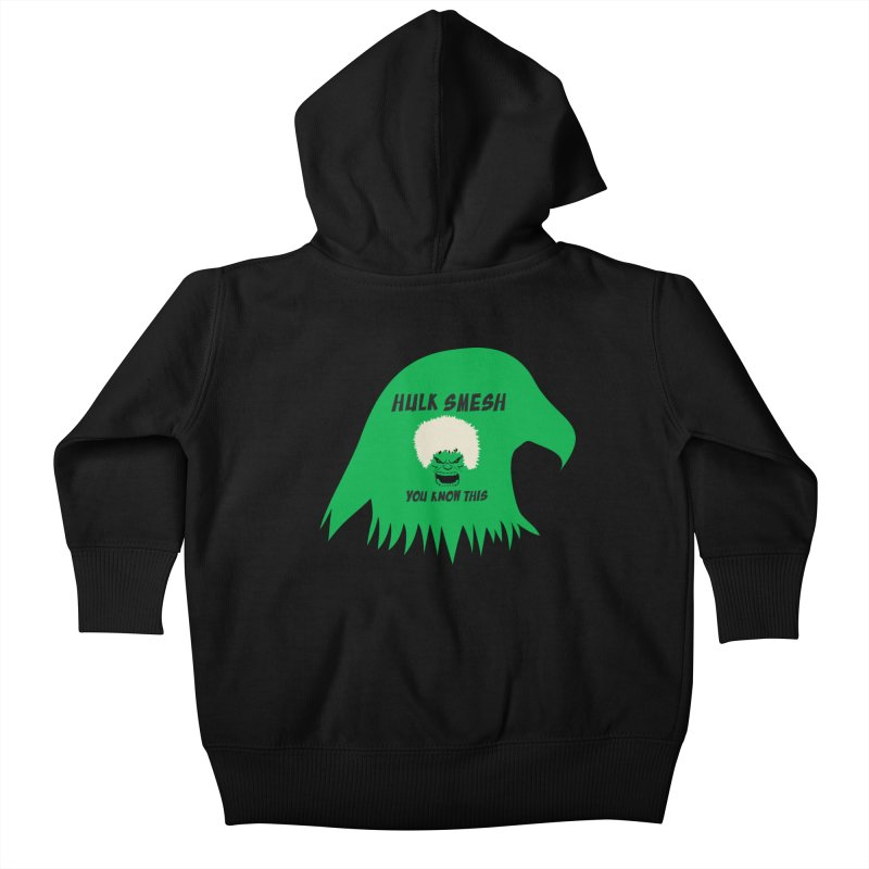 I Smesh, You Know This Kids Baby Zip-Up Hoody by oneweirddude's Artist Shop