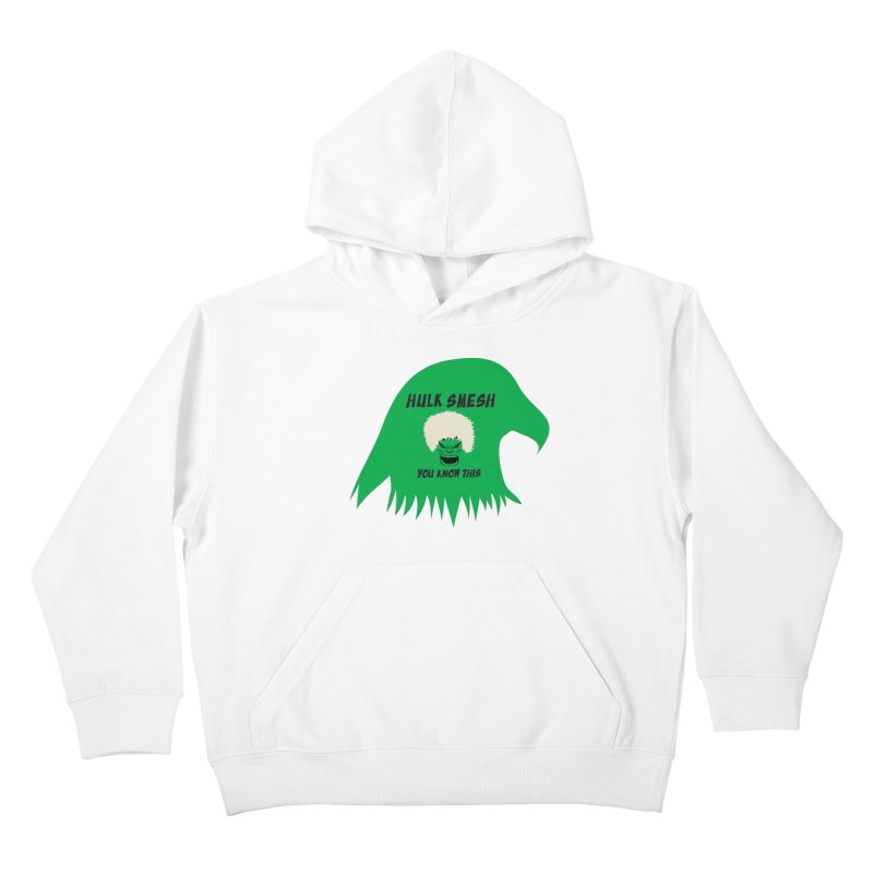 I Smesh, You Know This Kids Pullover Hoody by oneweirddude's Artist Shop