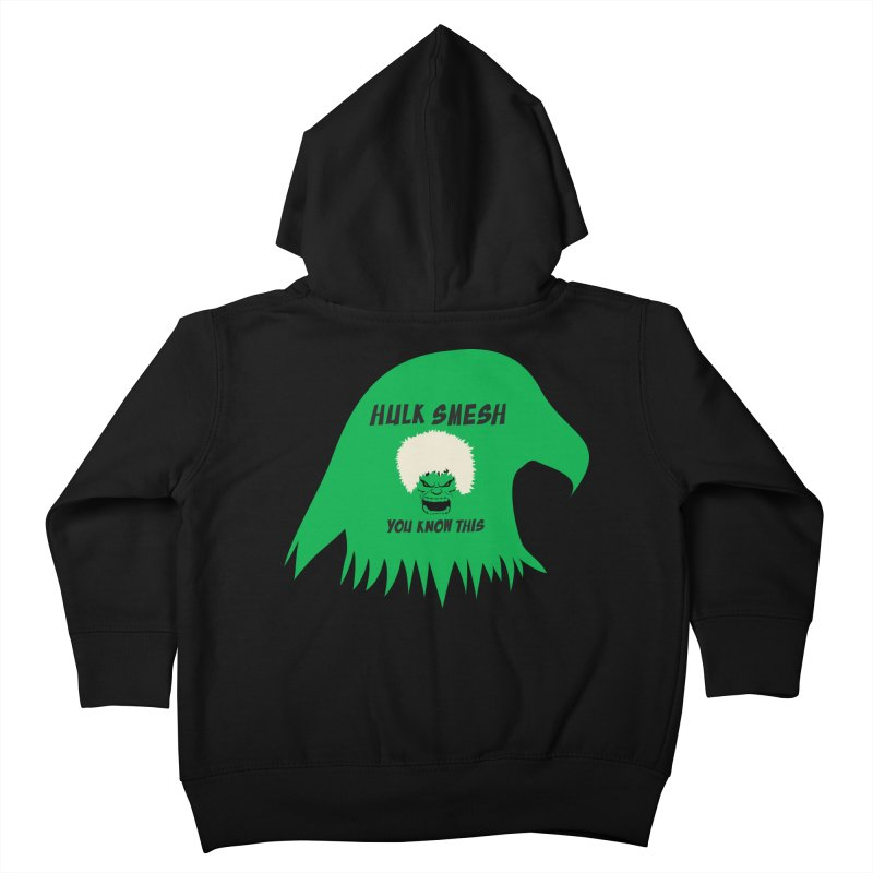 I Smesh, You Know This Kids Toddler Zip-Up Hoody by oneweirddude's Artist Shop