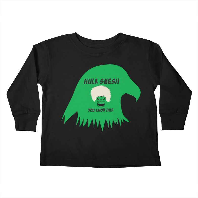 I Smesh, You Know This Kids Toddler Longsleeve T-Shirt by oneweirddude's Artist Shop