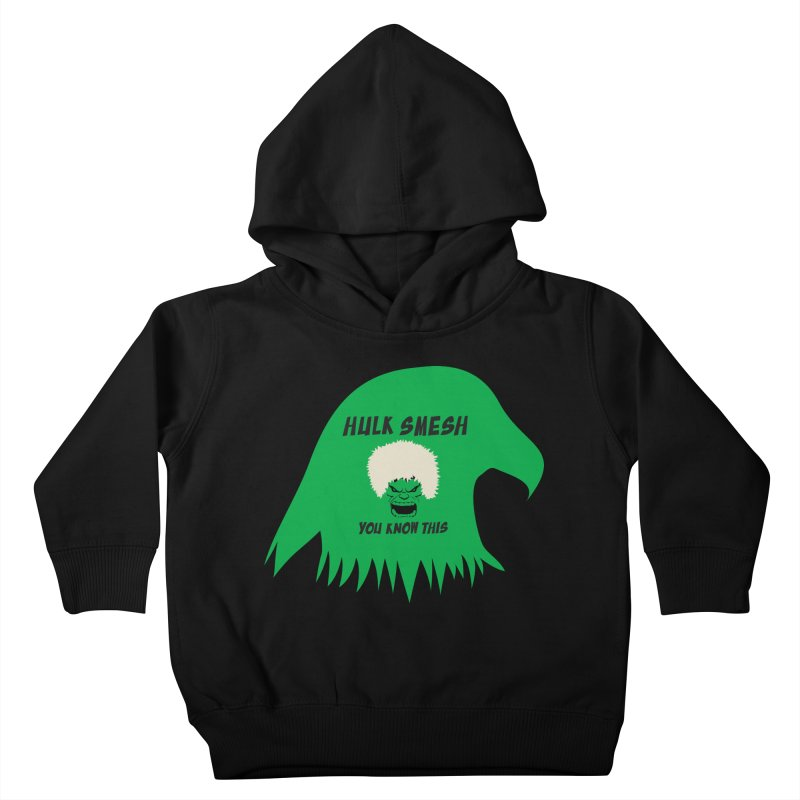 I Smesh, You Know This Kids Toddler Pullover Hoody by oneweirddude's Artist Shop