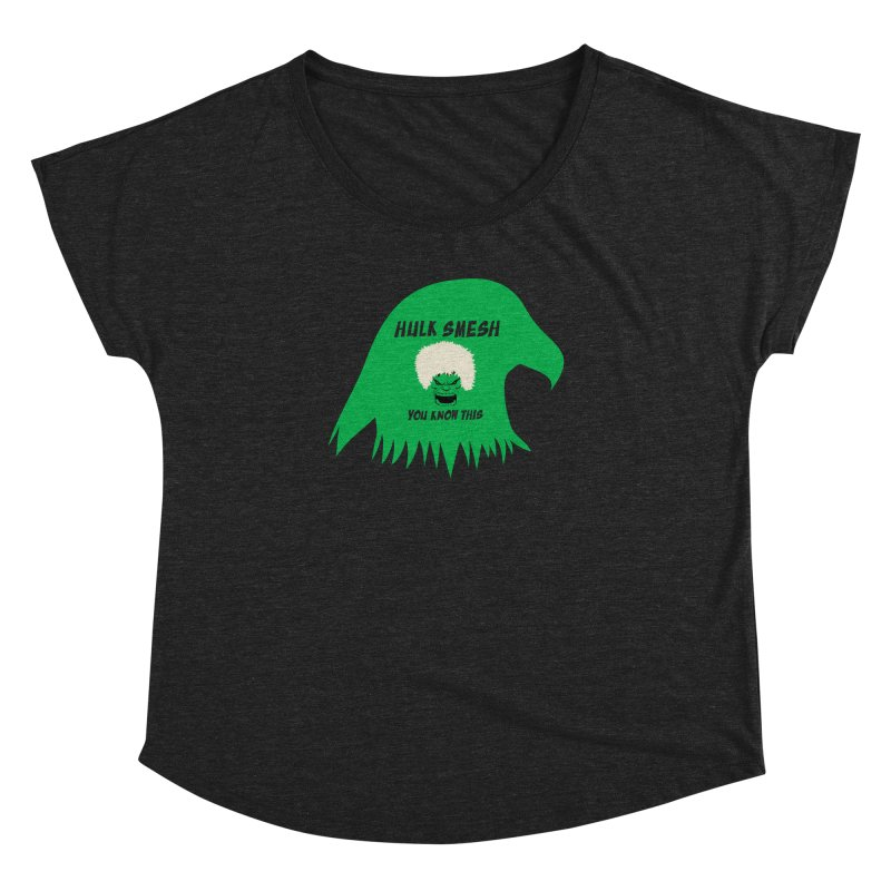 I Smesh, You Know This Women's Dolman Scoop Neck by oneweirddude's Artist Shop
