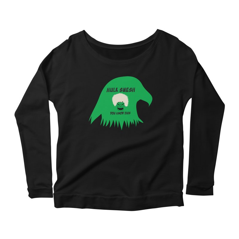 I Smesh, You Know This Women's Scoop Neck Longsleeve T-Shirt by oneweirddude's Artist Shop