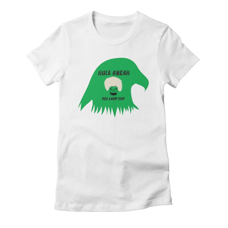 I Smesh, You Know This Women's Fitted T-Shirt by oneweirddude's Artist Shop