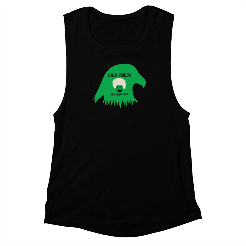 I Smesh, You Know This Women's Muscle Tank by oneweirddude's Artist Shop