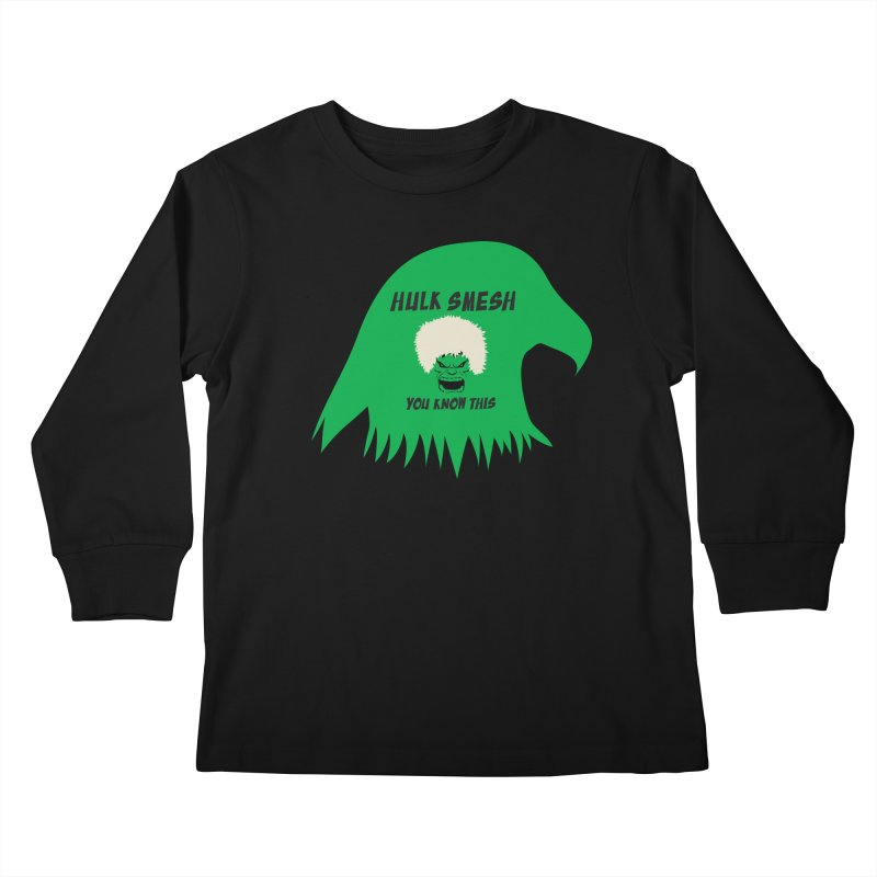 I Smesh, You Know This Kids Longsleeve T-Shirt by oneweirddude's Artist Shop