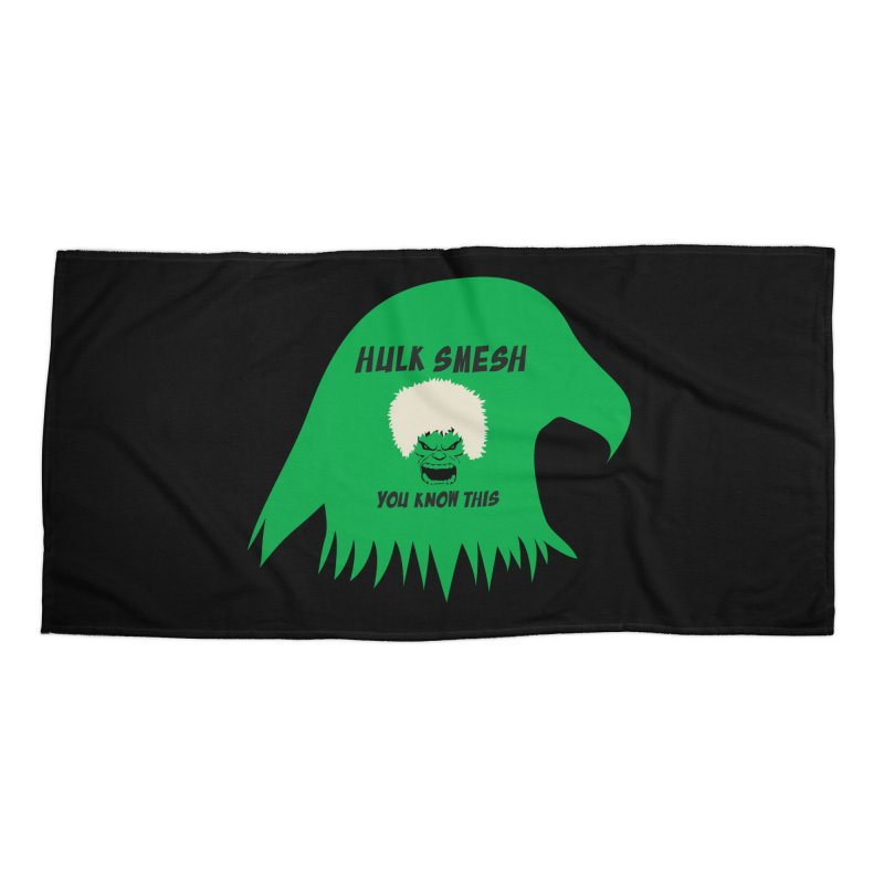 I Smesh, You Know This Accessories Beach Towel by oneweirddude's Artist Shop