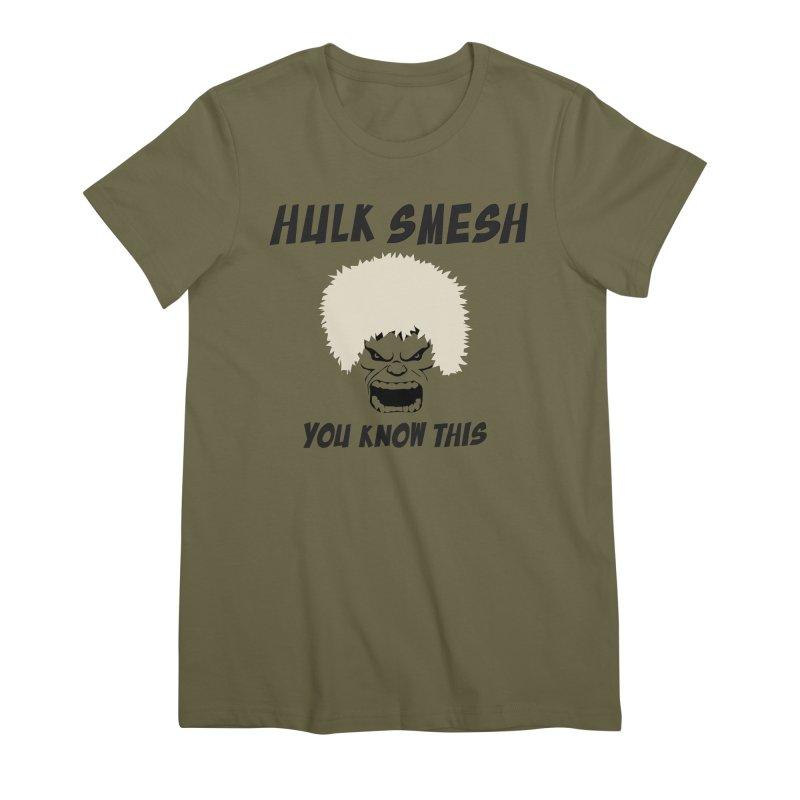 He Will Smesh You Women's Premium T-Shirt by oneweirddude's Artist Shop