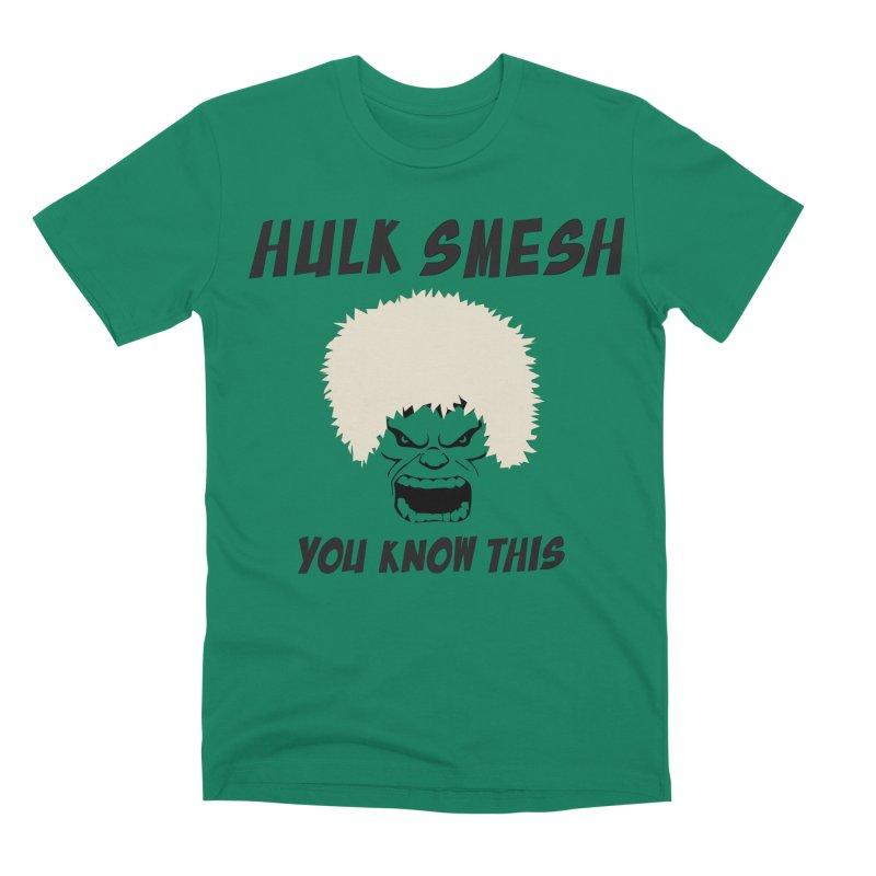 He Will Smesh You Men's Premium T-Shirt by oneweirddude's Artist Shop
