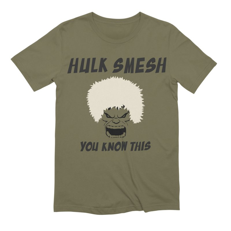 He Will Smesh You Men's Extra Soft T-Shirt by oneweirddude's Artist Shop