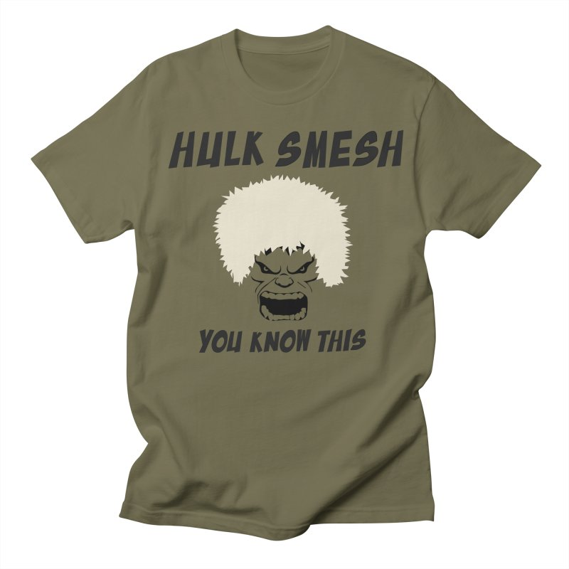 He Will Smesh You Men's Regular T-Shirt by oneweirddude's Artist Shop
