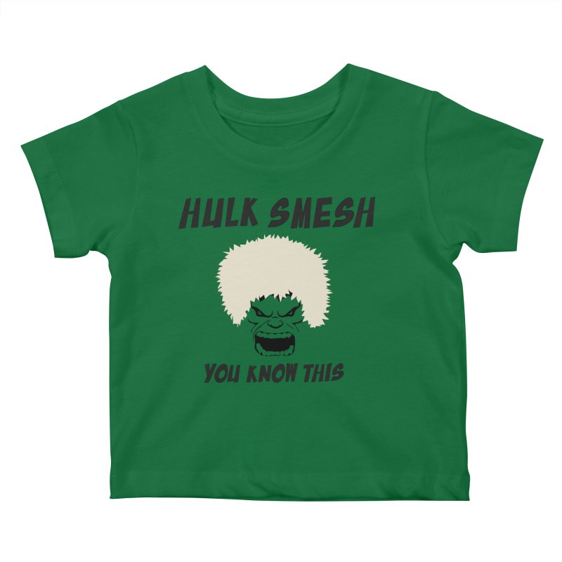 He Will Smesh You Kids Baby T-Shirt by oneweirddude's Artist Shop