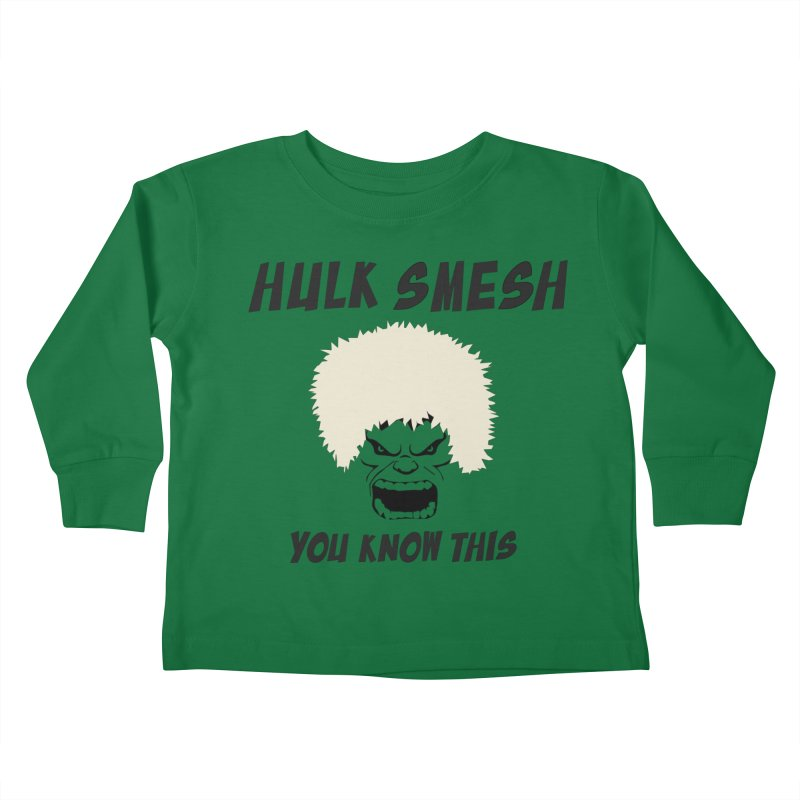 He Will Smesh You Kids Toddler Longsleeve T-Shirt by oneweirddude's Artist Shop