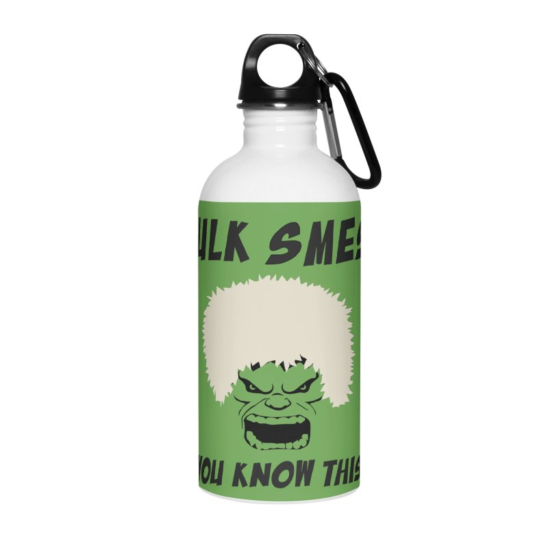 He Will Smesh You Accessories Water Bottle by oneweirddude's Artist Shop