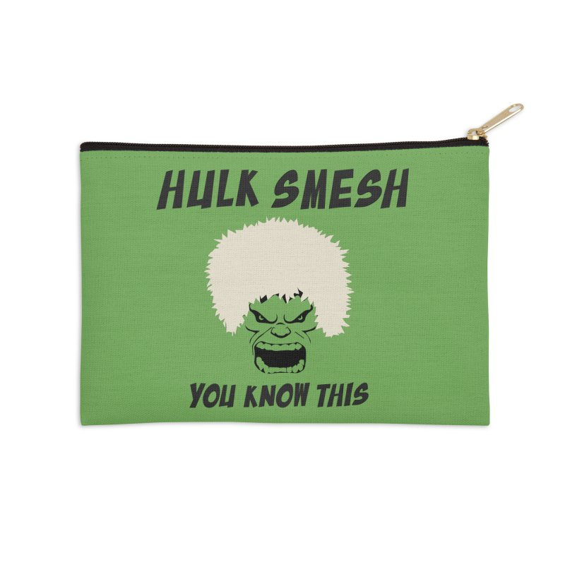 He Will Smesh You Accessories Zip Pouch by oneweirddude's Artist Shop
