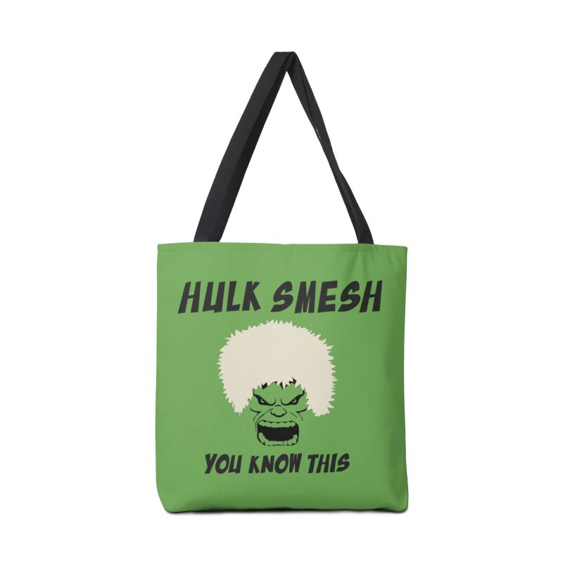 He Will Smesh You Accessories Tote Bag Bag by oneweirddude's Artist Shop