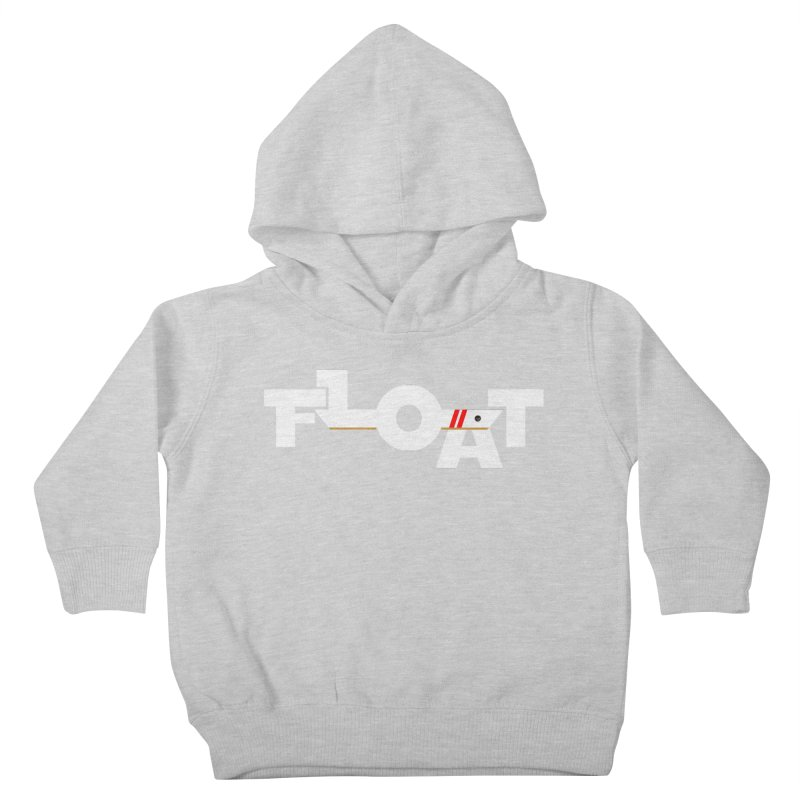 Float- Onewheel - OG White Red Goldy Kids Toddler Pullover Hoody by Onewheel Artist Shop